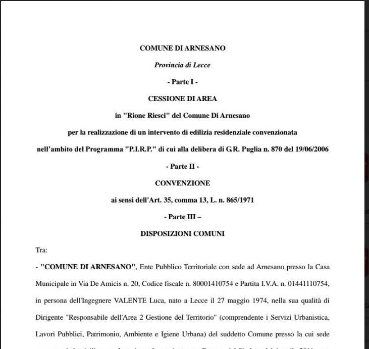 Comune di Arnesano (LE)