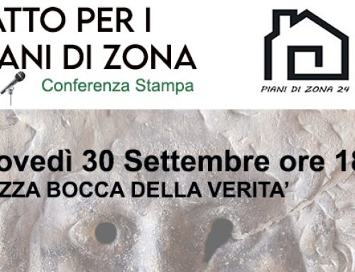Elezioni Comunali Roma 2021, Conferenza stampa – Patto per i Piani di zona!